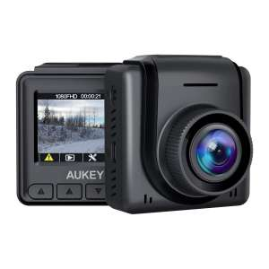 AUKEY 1080p Full HD Mini Dash Cam with 1.5 inches LCD