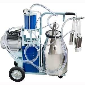 Lolicute Electric Milking Machine Milker 550W 10-12Cows
