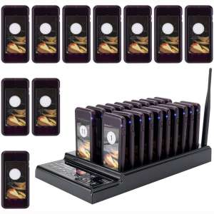 Retekess T112 Restaurant Pager Max 999 Social Distancing Pagers Queue Wireless Calling System