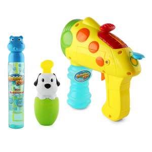 TWUSA Bubble Gun Toy Set 6 Oz Bottle