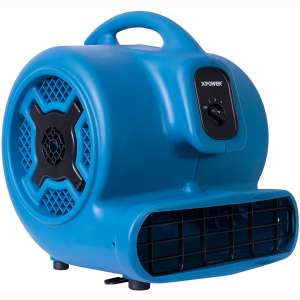 XPOWER P-830 Professional Air Mover, Carpet Dryer, Floor Fan, Blower for Water Damage Restoration