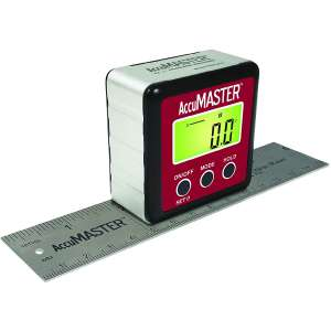 Calculated Industries 7534 AccuMASTER 2-in-1 Magnetic Digital Level and Angle Finder