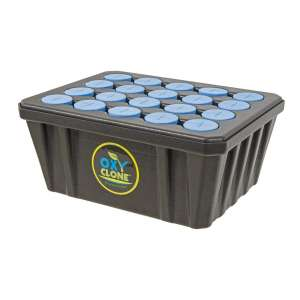 Hydrofarm OX20SYS Compact oxyCLONE 20 Site Cloning Propagation System, Black