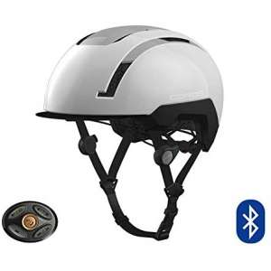 Coros SafeSound Urban Smart Cycling Helmet with Ear Opening Sound System, SOS Emergency Alert