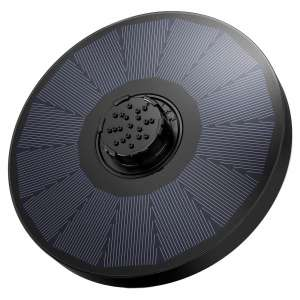OKMEE Upgraded 4-in-1 Nozzle Solar Fountain Pump