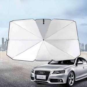 Rivetino New Car Sun Shade Umbrella Foldable Convenient Sunshade Sun Auto Windshield UV Block Sun
