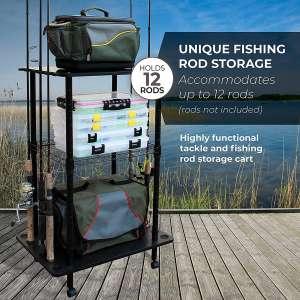Rush Creek Creations Fishing Rod Storage
