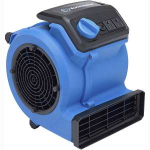 Vacmaster AM201 0101 550 CFM Portable Air Mover