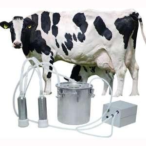 BEETLA Electric Pulsation Milking Machine 5L Portable Vacuum-Pulse Pump Cow Milking Machine