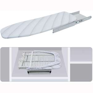 Lehom Hide-Away Ironing Board Drawer Slide-Out Folding Ironing Board Pull Out Iron Board
