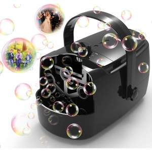 Zerhunt Bubble Machine 2 Speed Level Auto Bubble Blower