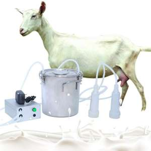 AnEssOil Milking Machine Portable Electric Milker Vacuum Pulsation Milking Machine