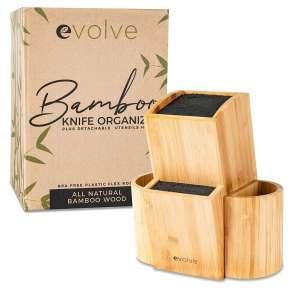 Evolve Bamboo Knife Block 20 Knives