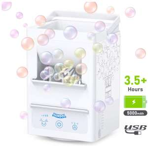 Hamdol Bubble Machine Automatic Portable Rechargeable Machine