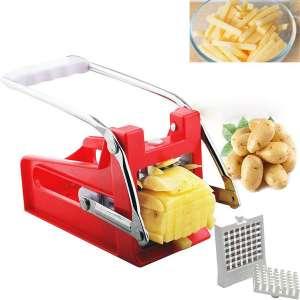 LANGYINH French Fries Slicer Potato Cutter Chopper Machine