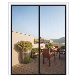 MAGZO Heavy-duty Fiberglass Screen Door
