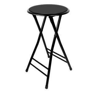 Trademark Home Folding Heavy Duty 24-Inch Collapsible Stool