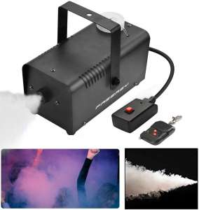 Freeasy Fog Machine 500 Watt Smoke Fog Machine Wireless Remote Control Portable for Halloween Holidays Parties Decoration Christmas Wedding Quick Generation