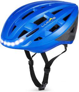 Lumos Kickstart Lite Smart Bike Helmet   Front and Rear LED Lights