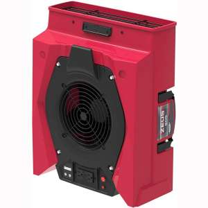 AlorAir Zeus 900 Air Mover Commercial Blower for Carpets, Walls, Plumbing Use, Variable Speed Floor Blower Fan, 950 CFM