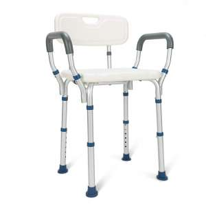 GreenChief Heavy Duty Shower Chair with Arms and Back