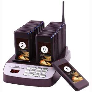 OYSAE Restaurant Pager System Portable Wireless Calling System