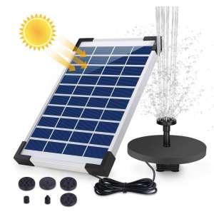 AISITIN 5.5W Solar Fountain Pump