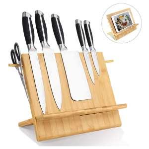 HOMEKOKO Bamboo Magnetic Knife Block