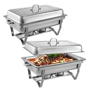 Mophorn Stainless Steel Chafing Dishes