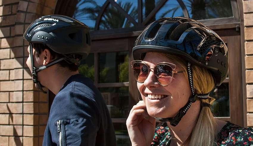 image feature Smart bike helmets