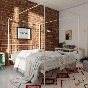 Novogratz Marion Canopy Bed Frame Full