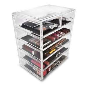 Sorbus Cosmetics Makeup and Jewelry Storage Case