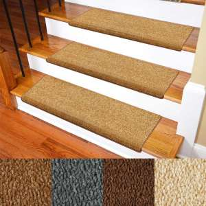 Carpet Stair Treads – Non-Slip Bullnose Carpet for Stairs – Indoor Stair Pads – Self-Adhesive & Easy Installation – Pet & Child Friendly – Skid Resistant & Washable