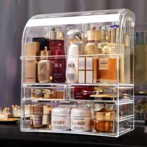 MOOCHI Cosmetic Makeup and Jewelry Storage Case