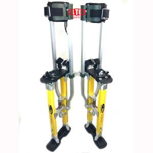 SurPro S2.1 Dual Legs Support Magnesium Drywall Stilts 24-40 in. (SUR-S2-2440MP)
