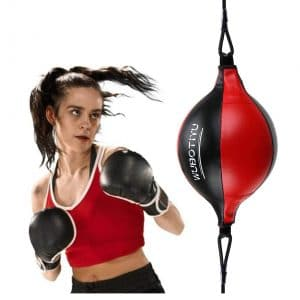 VAlinks PU Leather Punch Ball Striking Bag