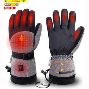 Rechargeable Heated Gloves for Skiing Hiking and Arthritic Hands ORORO Heated Mittens for Women and Men 2020 Upgraded