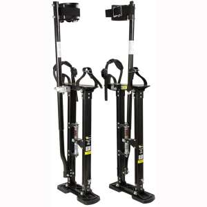 "Warner 24"" - 40"" Strap N Stride Aluminum Drywall Stilts, 10771"