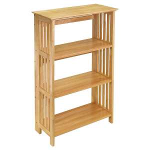 Winsome Natural Wooden Mini Bookshelf