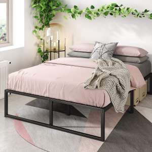 Zinus Lorelai Metal Platform 14 Inch Bed Frame Easy Assembly, Full