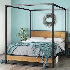 Zinus Suzanne Canopy Full Bed Frame