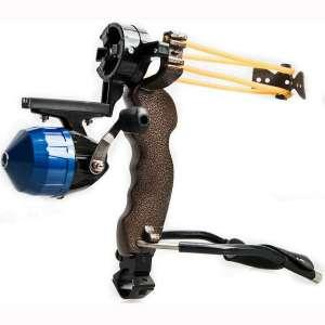 Assolar SS-24 Outdoor Hunting Shooting Catapult Fishing Archery Slingshot,Blue