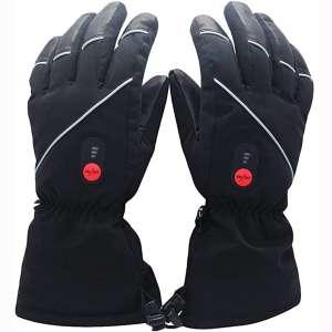 Savior Heated Gloves for Men Women, Electric Heated Gloves,Heated Skiing Gloves and Snowboarding Gloves