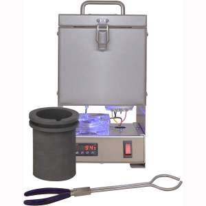 Tabletop QuikMelt 100 oz PRO-100-3 KG Melting Furnace - Stainless Steel Kiln Jewelry Making Metal Melting