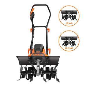 TackLife 18-Inches Electric Tiller