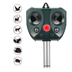 ZOVENCHI Ultrasonic Animal Repeller with Ultrasonic Sound