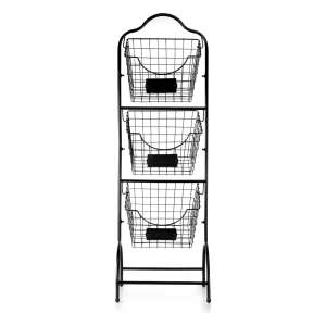 Sunny Living 3 Tier Market Basket Stand