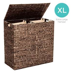 Best Choice Products Extra Large Double Laundry Hamper