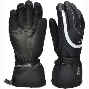 Heated Gloves Men Women,Electric Rechargeable Battery Heated Gloves 7.4V 2200mAh,Heated Ski Snow Motorcycle Gloves