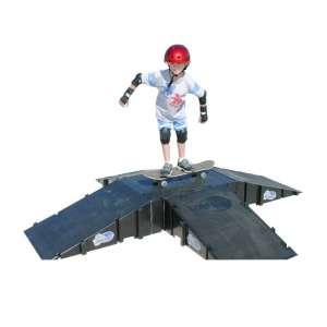 Landwave 4 Sided Pyramid Skateboard Kit 4 Ramps